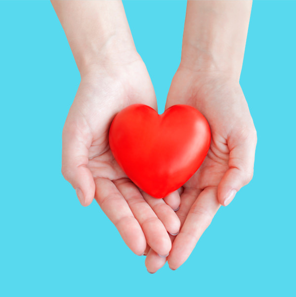 Love Led Leaders Holding Heart